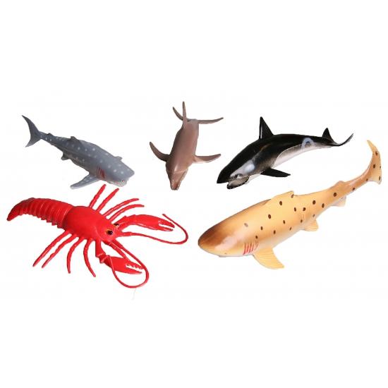 5-delige-speelset-plastic-zeedieren