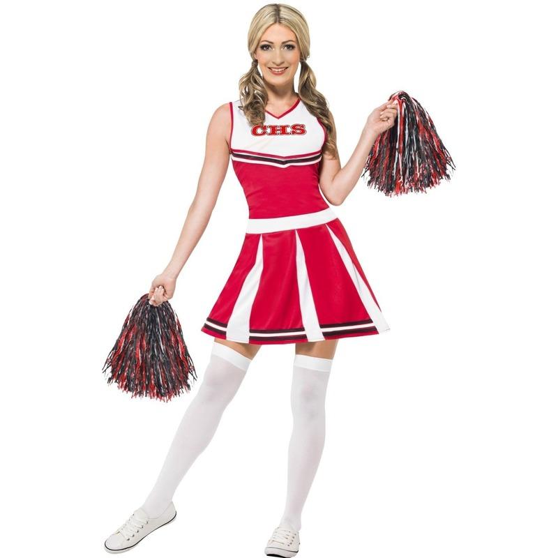 american-cheerleader-jurk-rood