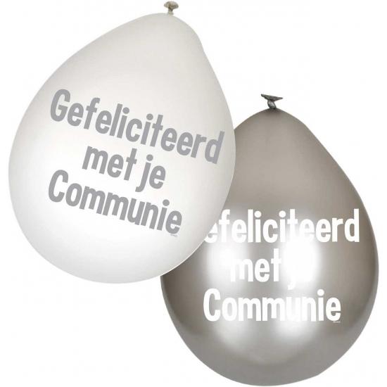 communie-ballonnen-witzilver-6-stuks