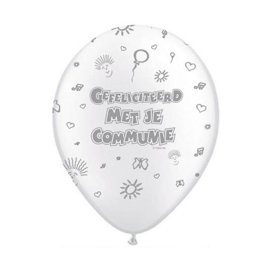 communieversiering-ballonnen-8-stuks