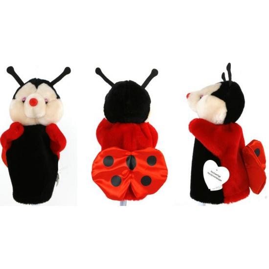 dieren-handpop-lieveheersbeestje