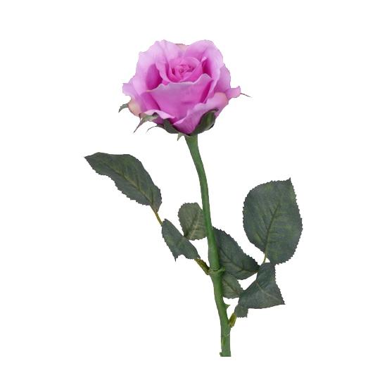 kunst-roos-paars-58-cm