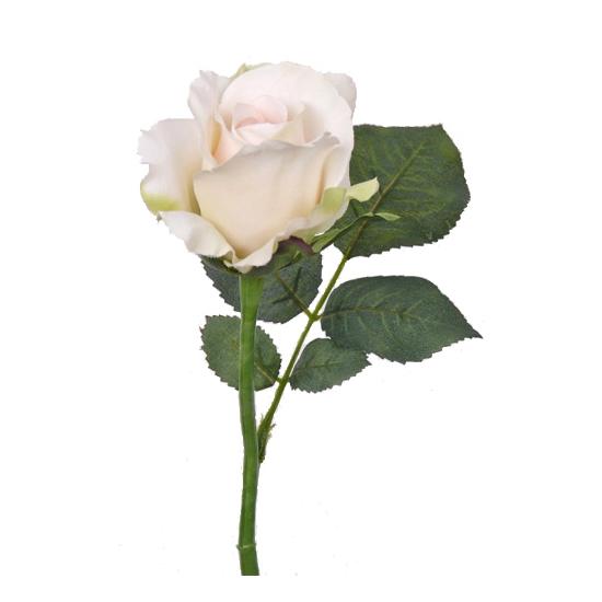 kunst-roos-wit-30-cm