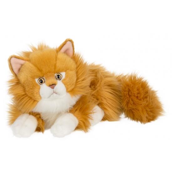 liggende-rode-kat-knuffel-25-cm