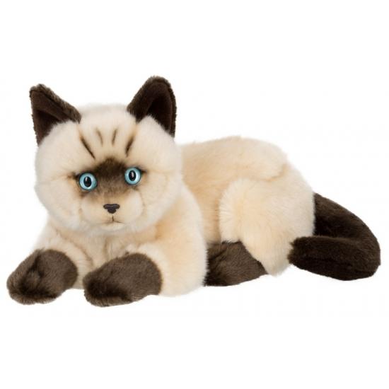 liggende-siamese-kat-knuffel-25-cm