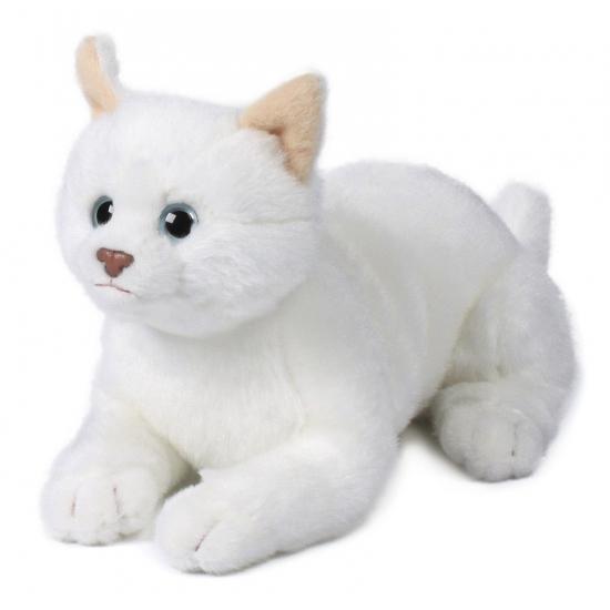liggende-witte-kat-knuffel-20-cm