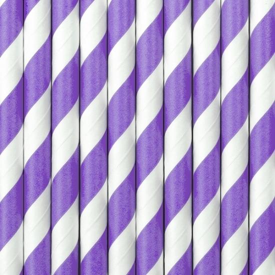 lila-paarse-met-witte-rietjes
