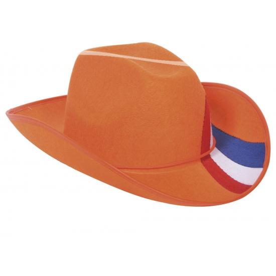 oranje-cowboy-hoed